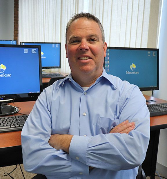 A photo of Brian Richard, Chief Information Officer