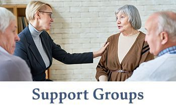 seniors at support group