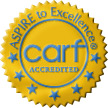 Aspire to Excellence CARF Accredited GoldSeal