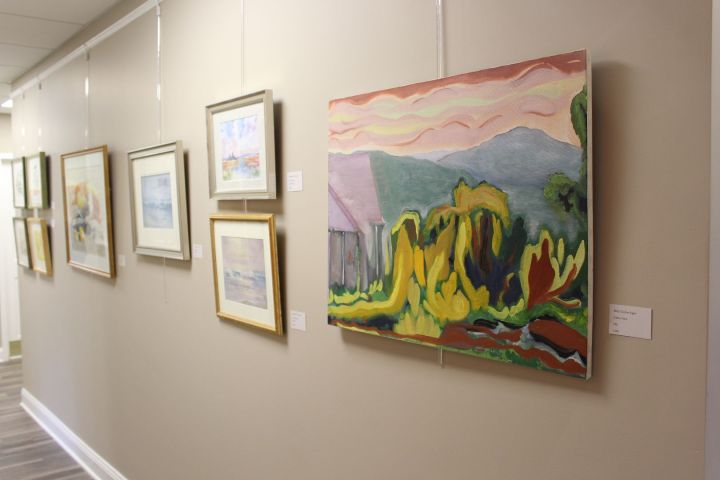 Take A Stroll Through Our Hallways Adorned With Resident Art