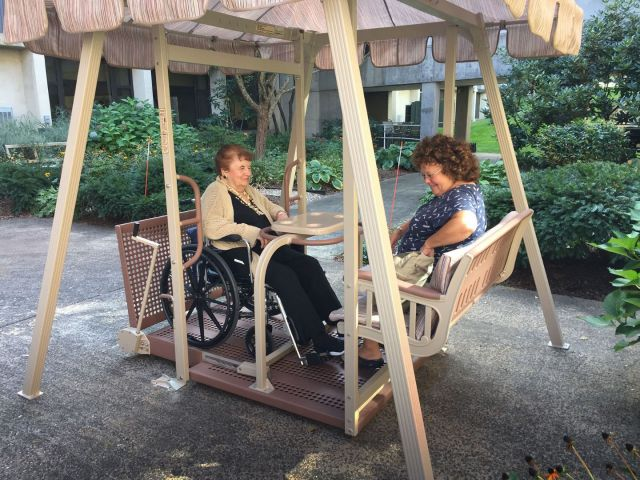 Accessible Swing at MHC