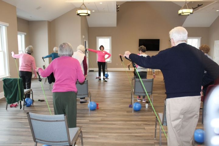 Take part in our exercise classes