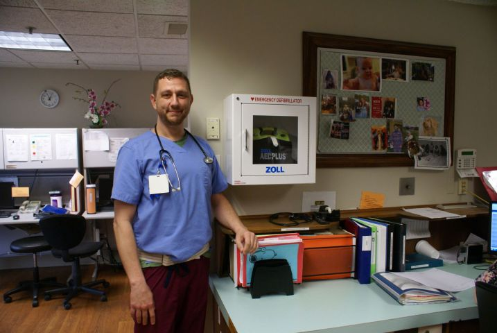 Automated External Defibrillators at MHC