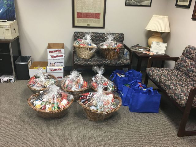 Baskets For United Way