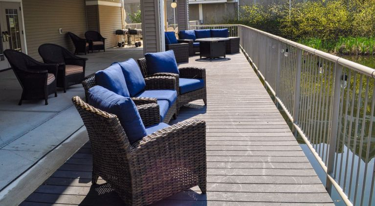 Dockside Patio Seating