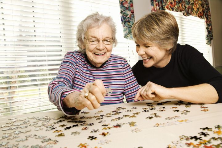 We have a variety of fun games available for our residents