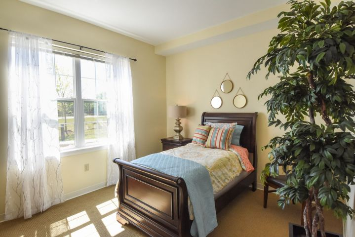 Sea Level studio bedroom - our lowest priced efficiency apartments